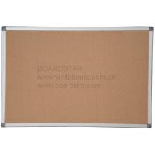 Tablero de corcho / tablón de anuncios con marco de aluminio (BSCCO-K)