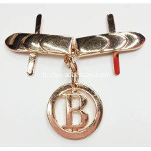 2013 Hot-Sell Rose Gold Alloy Lady Shoe Buckle
