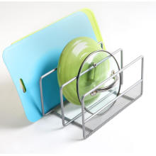 Home Storage Rack Silver for Kitchenware