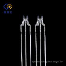 diodo LED de doble color de bajo brillo y alto brillo de 3mm para luz indicadora