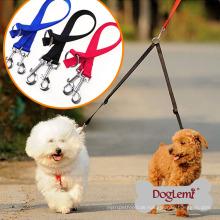 Hundeleine Koppler Zwei-Wege Doppel Nylon Hundeleine Frühling
