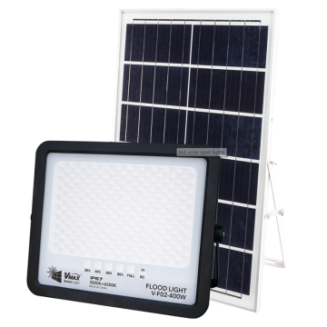 Intelligent remote control solar spotlight 400W