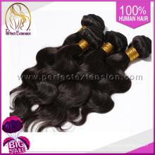 100%virgin hair double weft,human hair weaving body wave