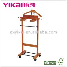 Suporte de madeira antigo Valet madeira