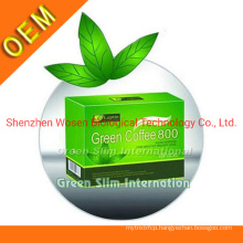 Herbal Extract Slimming Green Coffee Fast Weight Loss Fat Burner Coffee