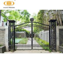 Best price stylish galvanized and powder coated main gate designs