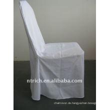 weiße Farbe Standard Bankett Hall Stuhlabdeckung, CTV551