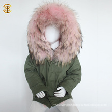 Factory Direct Supply Fake Fur Winter Jacket for Child