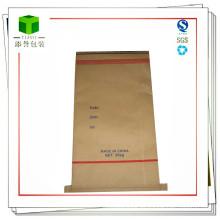 Bolsa de papel de fondo de costura personalizada para sacos de té