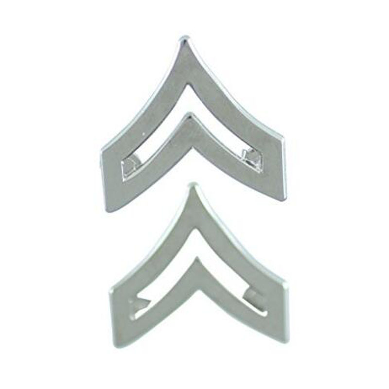 Police Fire Ems Army Collar Brass Pins