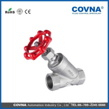 Stainless steel Angle seat valve PN16/40