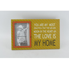 Silk Screen Colorful MDF Picture Frame pour Home Deco