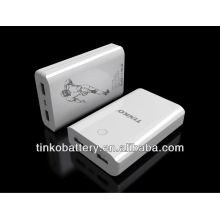 with ROSH/CE portable power bank in factory price with good quality