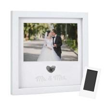 Amazon hot sale wholesale custom Modern style artwork wedding picture frame for souvenir