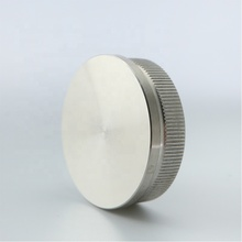304SS Handrail Fitting Stainless Steel Handrail End Cap