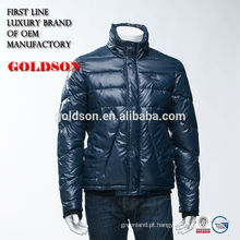 2016 Shining Nylon Men Handsome Down Jacket Moda na Europa
