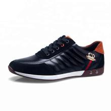 Sapatos de couro casual de alta qualidade para homens