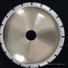roda de perfil de moagem de diamante soldada para moldar a pedra de mármore