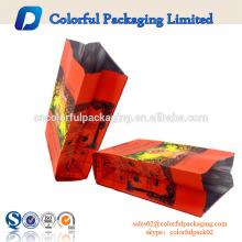 Personnalisé mince thé aluminium feuille sacs d'emballage de thé violoncelle sacs
