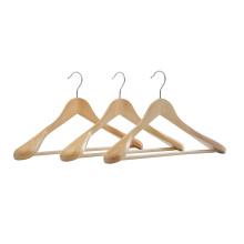Wholesale Durable Hanger, Bulk Wooden Coat Hanger Cintre for Hotel WIP