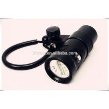 Lithium-Batterie Wiederaufladbare flache LED-Taschenlampe Tauch-Video-Licht