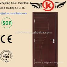 JK-HW9104 Dessins en bois de porte principale en bois, Couleurs de peinture Portes en bois