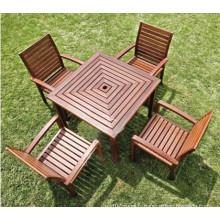 2014 Hot Sale Haute qualité WPC Park Tables and Chairs