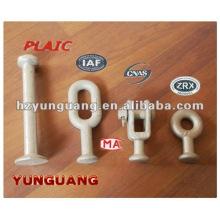 acier galvanisé à chaud divers type Ball-yeux électrique industrie des télécommunications accessoires de câble forging lien raccord