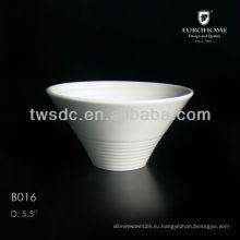 Керамические меди выступающей чаша, шар фарфора меди