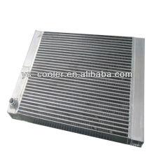 Объединить воздушный и масляный радиаторы для компрессора