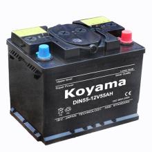 Bateria seca padrão DIN para veículo europeu (5559) -12V55ah