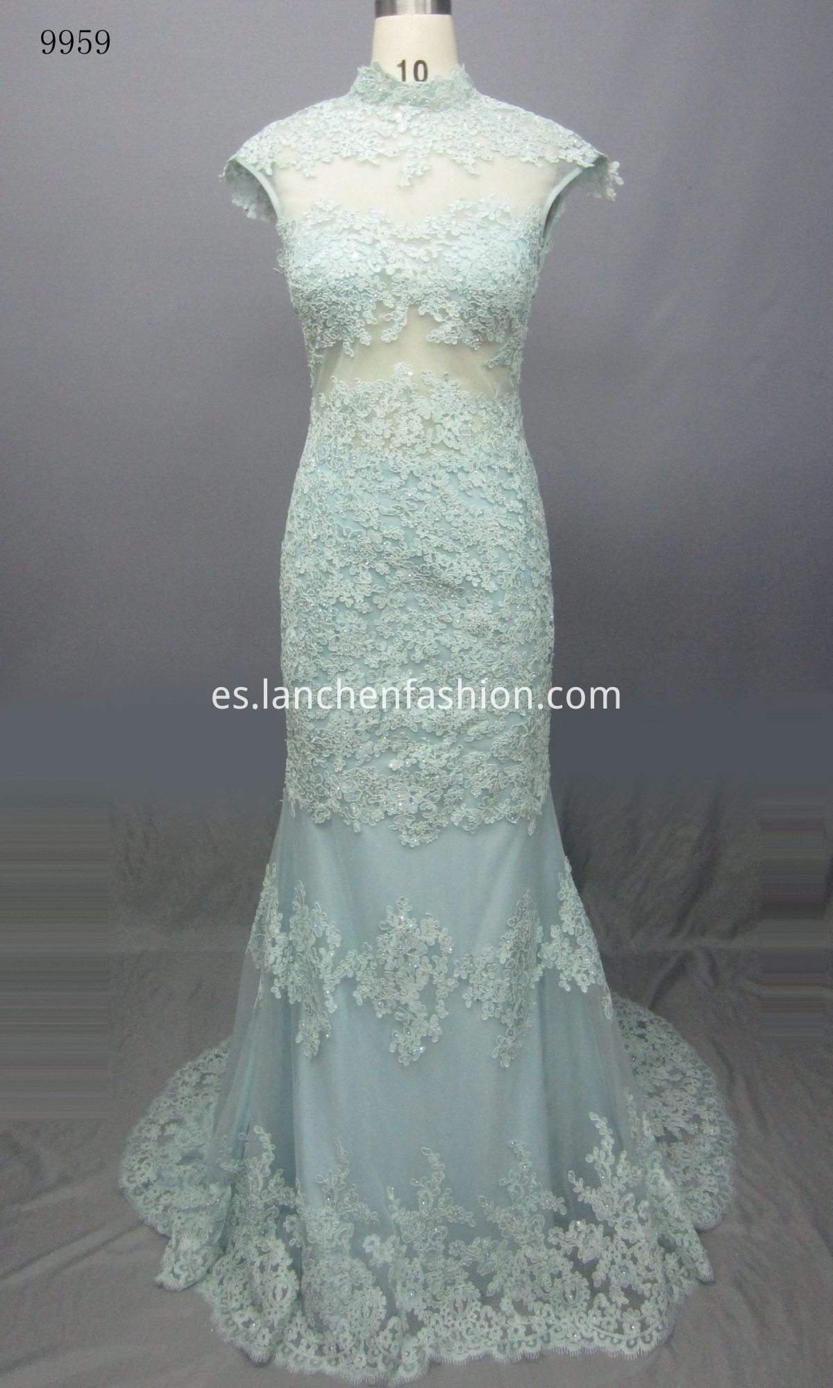 Formal Beaded Prom Dress