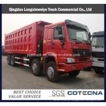 Caminhão de despejo / caminhão basculante pesado de Sinotruk HOWO 8X4