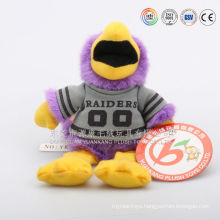 Safety standard CE/EN71 passed educational toys plush animal shaped hand puppets for baby