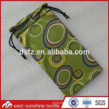 Мешок из микроволокна для солнцезащитных очков, индивидуальный чехол для очков, разработанный мешок для очков из ткани