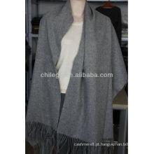 lenços de lã de lã pura longos