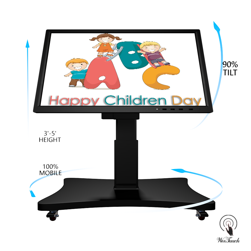 55 Inches 4K Display Whiteboard With Automatic Stand