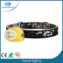 Portable Waterproof New design LED Head Light