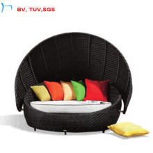 2016 Garden Patio Outdoor Wicker Rattan Daybed with Pillow