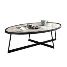 Table basse en pierre frittée
