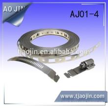 Banda de aço flexível