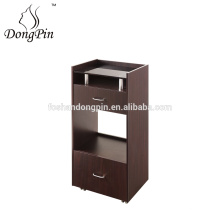 Salon Trolley Specific Use and Wooden Material Hair Extension Trolley&Tray