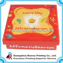 Crianças, aprendizagem, animais, cartões, com, caixa