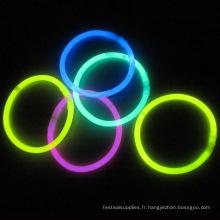 bracelet luminescent tube lueur