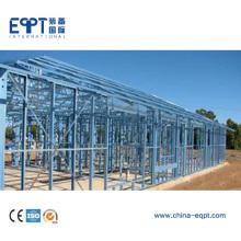 Estructura de acero ligero de bajo costo