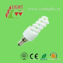 Mini spirale complet T2-11W E14 CFL, lampe économiseuse d'énergie