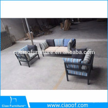 Canapé 3 places à revêtement en poudre exposée