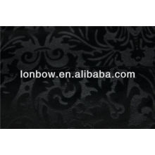 Hot sell high quality heavy cotton velvet embossed fabric for dinner suit