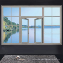 Grills Design Sliding Aluminium Windows with Quality Hollow Glass, Rransform Your Home