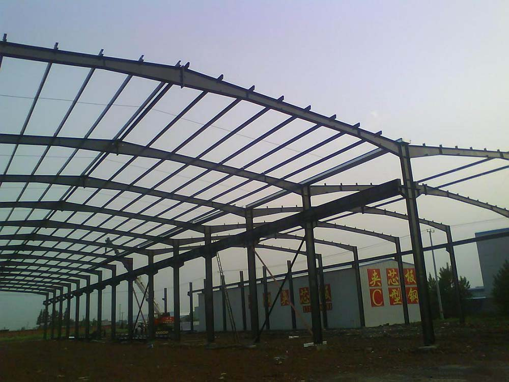 Factory Workshop Plant Prefabricated